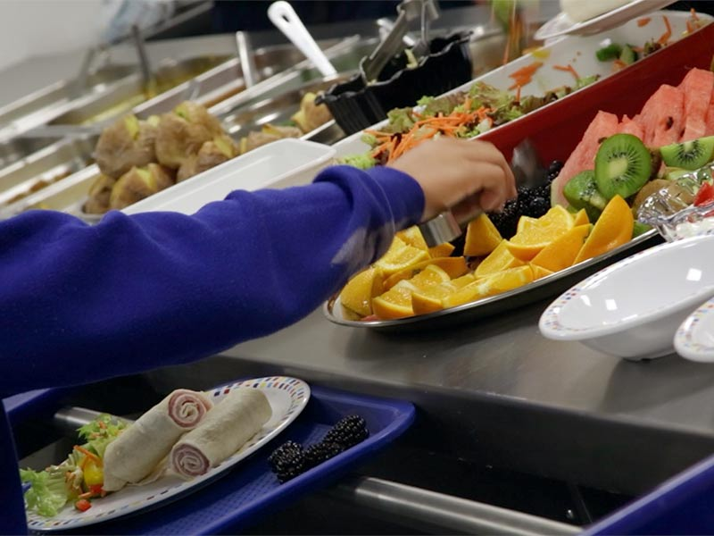 Denbighshire County Council is re-launching its school meal catering service